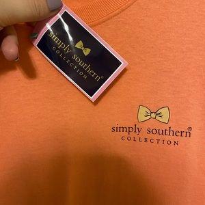 NWT Simply Southern Fall long sleeve t shirt